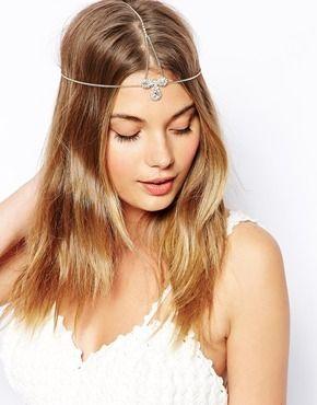 ASOS Crystal Hair Crown - Multi