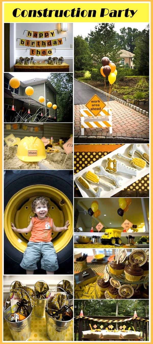 Construction Party, for my nephew?. . .