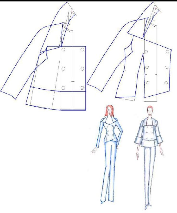 CAD DESIGN OF COLLARS AROUND NECKLINES IN VARIED FORMS | Zlatina Kazlacheva…