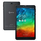 #10: NPOLE 8 Inch 3G Phone Call Tablet Android 5.1 Quad Core 16GB IPS Screen 1280x800 GPS Dual-band WIFI HD Video 3D Games Support 2G 3G SIM Card (Black)
