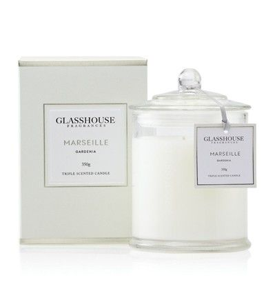 Glasshouse Gardenia Candle the most beautiful candle on the world. Yes I can be bribed to do nearly anything for  one of these:)