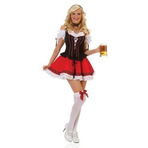 Cute Oktoberfest dress, available online from Costume Direct