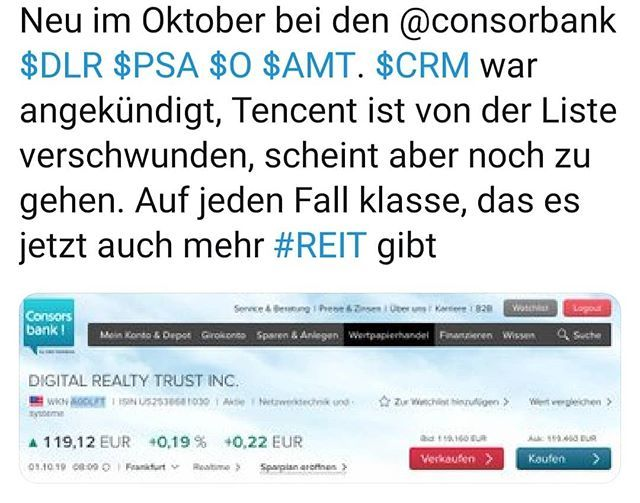 Neue Chancen Bei Der Consorsbank Dlr Psa O Amt Reit Instagram Reit Dlr