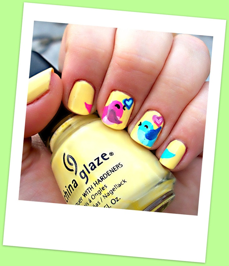 148 best Nails - Animals images on Pinterest | Nail art, Nail ...