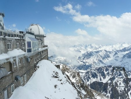 Pic du Midi. Observatory on the French Pyrenees