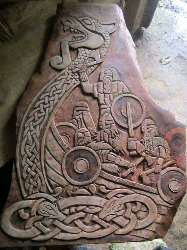Pin By Joan On Trae Ideer Norse Tattoo Viking Tattoos Viking Art