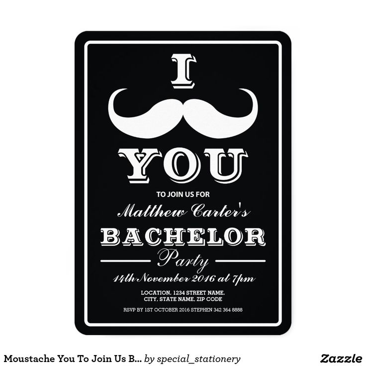 62 best Bachelor Party Invitations (5x7) images on Pinterest ...