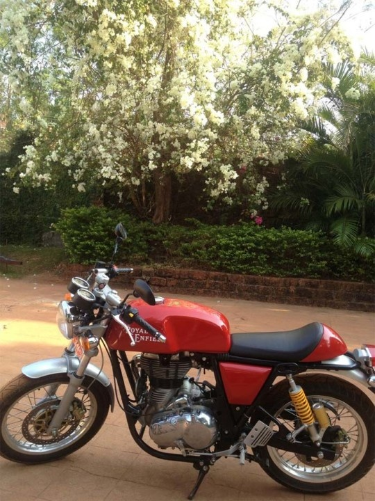 Royal Enfield Continental GT Is The Official Name Of Cafe Racer 535