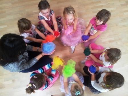 Kindertanz in der Tanzschule Step by Step in Berlin Neukölln