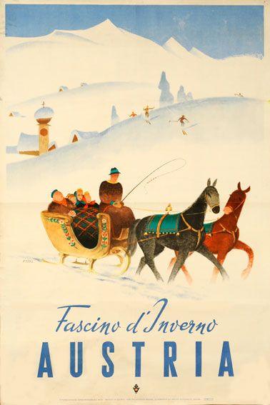 "Hermann Kosel, ""Fascino d'Inverno Austria"", c. 1947 ¡¡¡¡¡¡¡......http://www.pinterest.com/beeegiii/travel-inspirations/ €¬€¬€¬€¬€¬€¬€¬€¬?¿?¿?¿?"