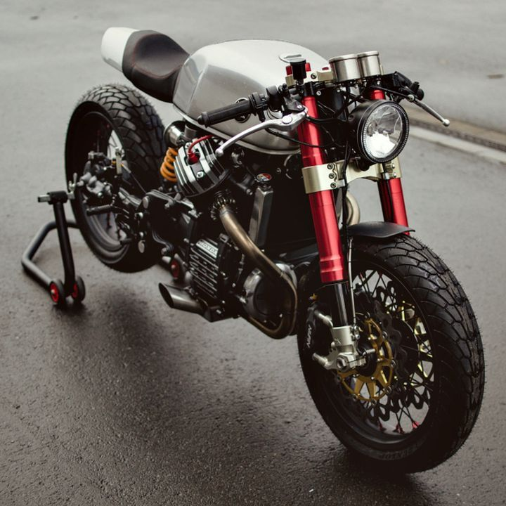 Honda CX500 Cafe Racer.