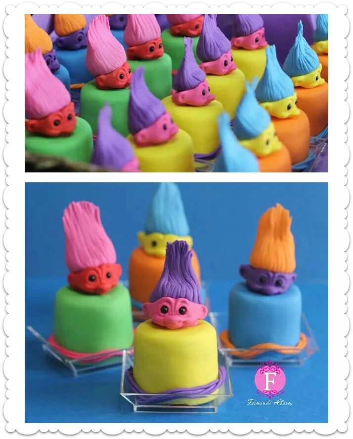 Troll Cup Cakes Funny Things Pinterest Cakes Cups And