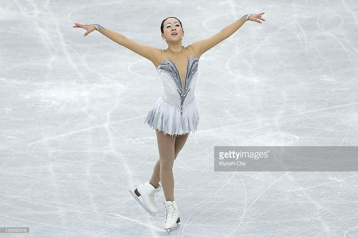 News Photo : Mao Asada of Japan competes in the Ladies Free...