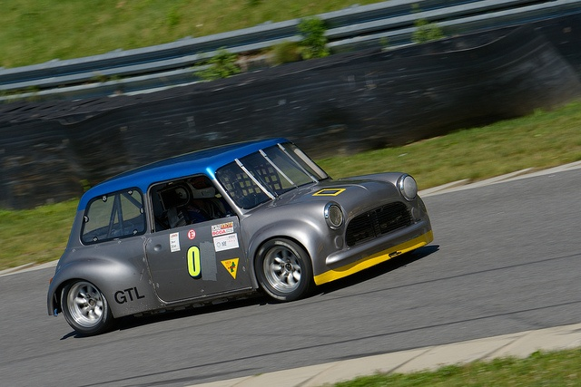 SCCA modified mini at Lime Rock Park