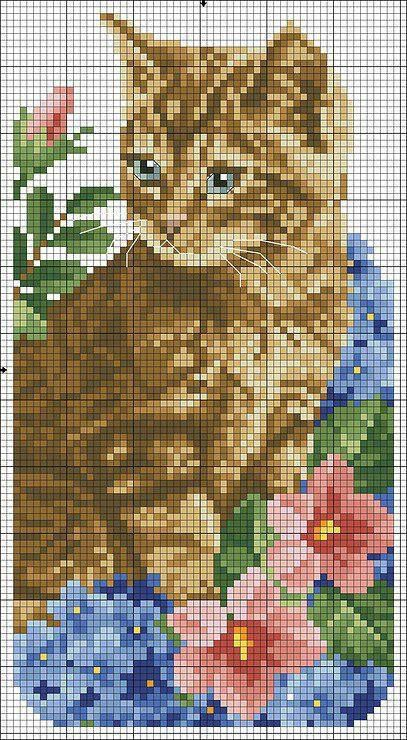 Cross Stitch Cat ♥
