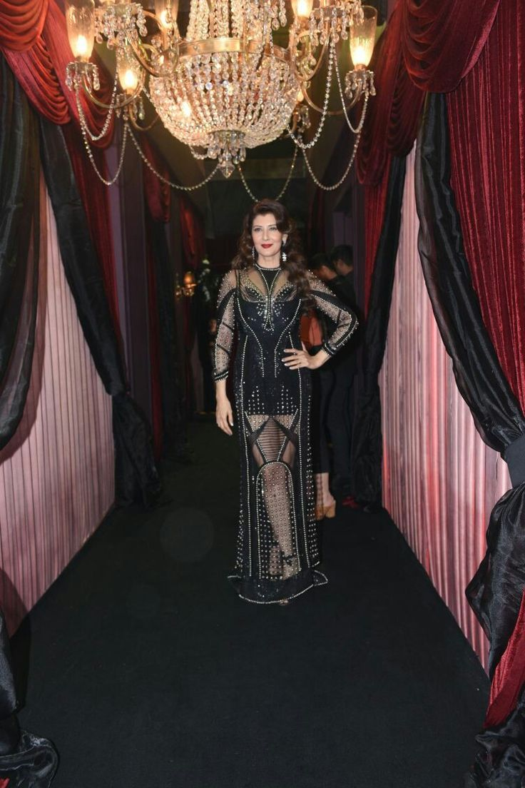 Ever green Sangeeta bijlani at HT most stylish award 2018