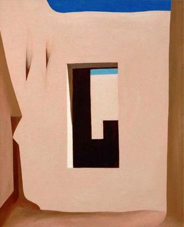 Georgia O'Keeffe. In the Patio 1946 http://www.corriere.it/gallery/cultura/10-2011/o-keeffe/1/georgia-o-keeffe_c468b8ba-fe29-11e0-bb8b-fd7e32debc75.shtml