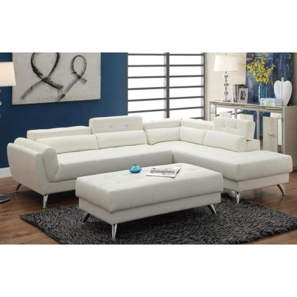Tommy Sectional Sectional Sofa Faux Leather Sectional Leather Sectional