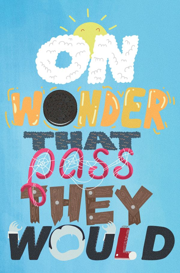 "Oreo ""Wonderfilled"" by Jonathan Kim, via Behance"