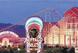Desperado Roller Coaster at Buffalo Bills Casino on the border of California and Nevada