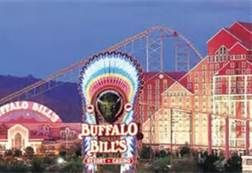 Desperado Roller Coaster at Buffalo Bills Casino on the border of California and Nevada