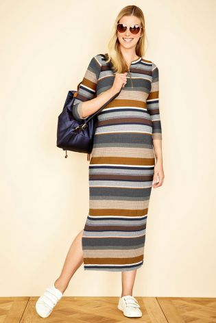 Don't want to whack the tights on yet? Have a look at our Maternity Midi Dress ideal for this Season!