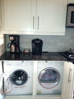 Amazing Under Counter Washer And Dryer In The Kitchen. So Handy!