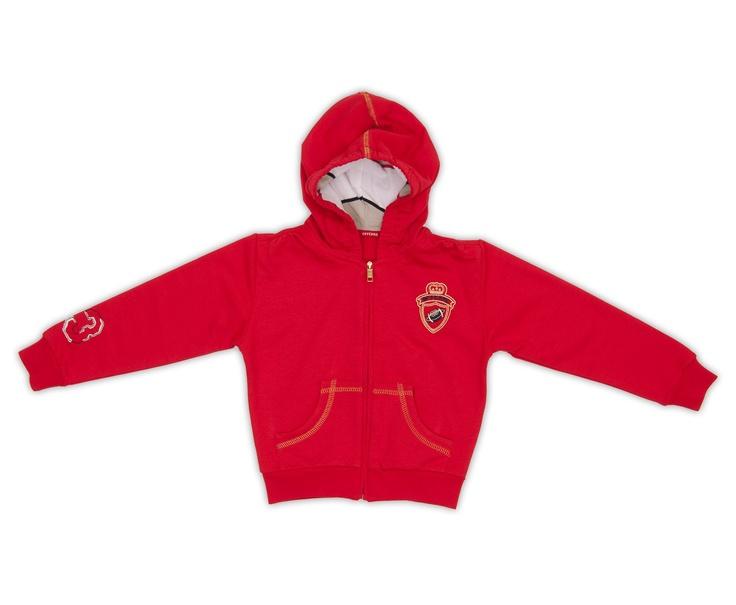 Ferre Kırmızı Kapüşonlu Sweatshirt