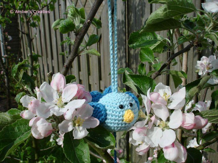 Amber's Creaties: Lieve kleine vogeltjes