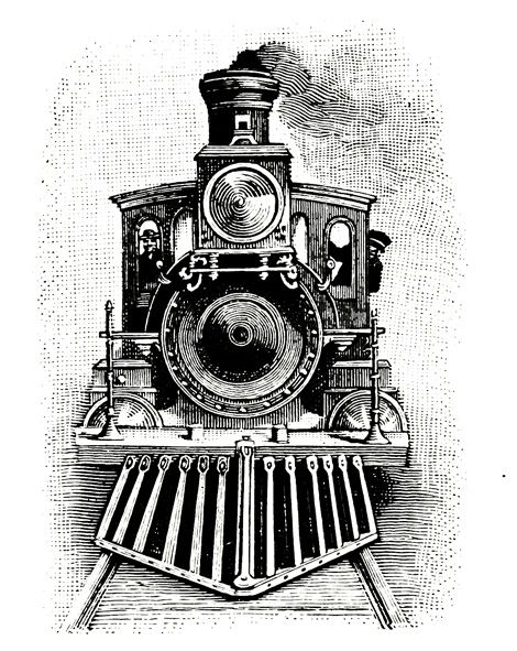 steam train drawing - Google Search