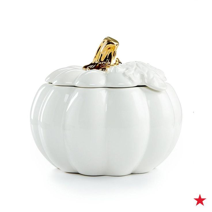 Be the talk of the table & serve your guests a hearty soup in this adorable pumpkin bowl from the Martha Stewart Collection. Shop it on macys.com now!