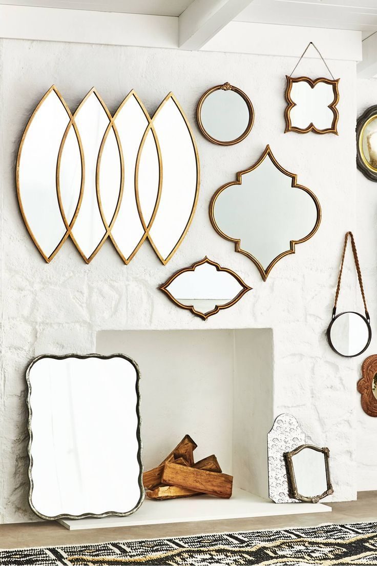 Shop The Henrietta Mirror And More Anthropologie Mirror Decor