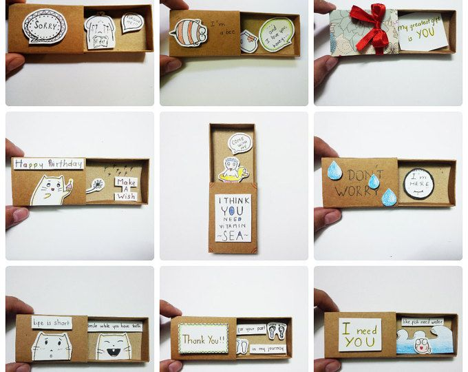 Pack of 50 Love card Mixed designs, Wholesale greeting cards! - Card Matchbox, Gift box, Message box