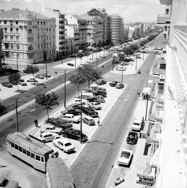 Avenida da República, 1967. João Brito Geraldes.
