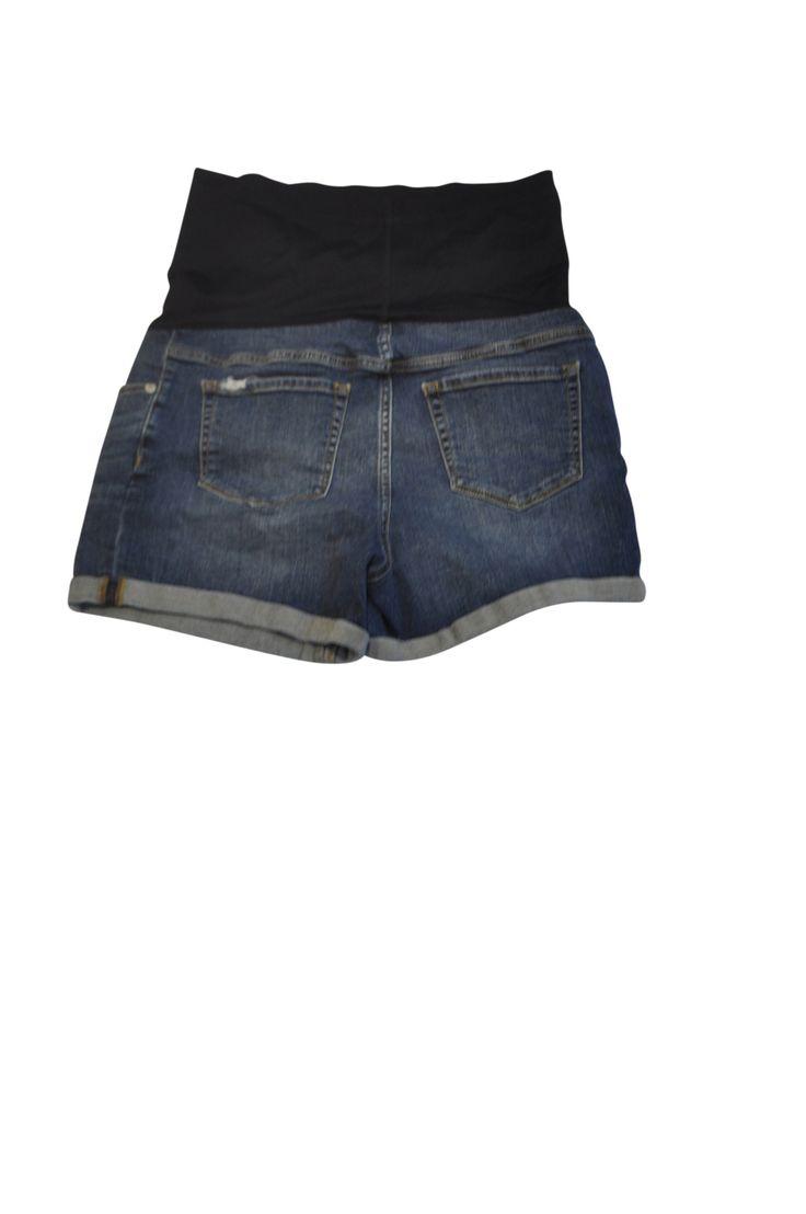 Blue Jean Shorts by Liz Lange