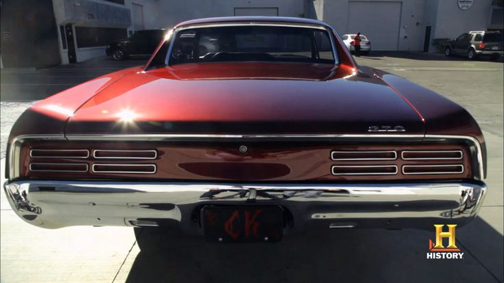 67 GTO Counts Kustoms on Counting Cars back view