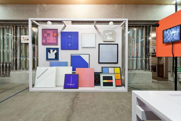 HENRYK STAŻEWSKI. ALWAYS THEREWARSAW UNDER CONSTRUCTION FESTIVALspace design: Maria Jeglinskacurator: Klara Czerniewskaphoto: B. Stawiarski