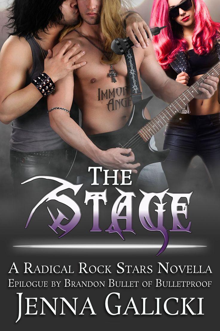 Rockstar Book Cover Design by Chloe Belle Arts for Jenna Galicki