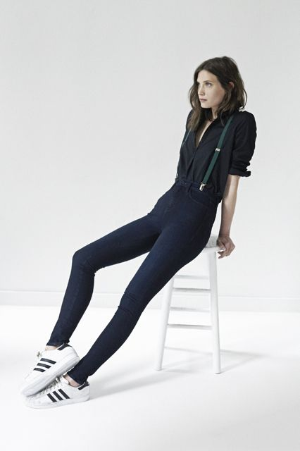 This Is Lazy-Girl Chic At Its Finest #refinery29  http://www.refinery29.com/ayr#slide10