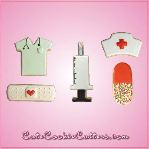 Nurse Cookie Cutter Set