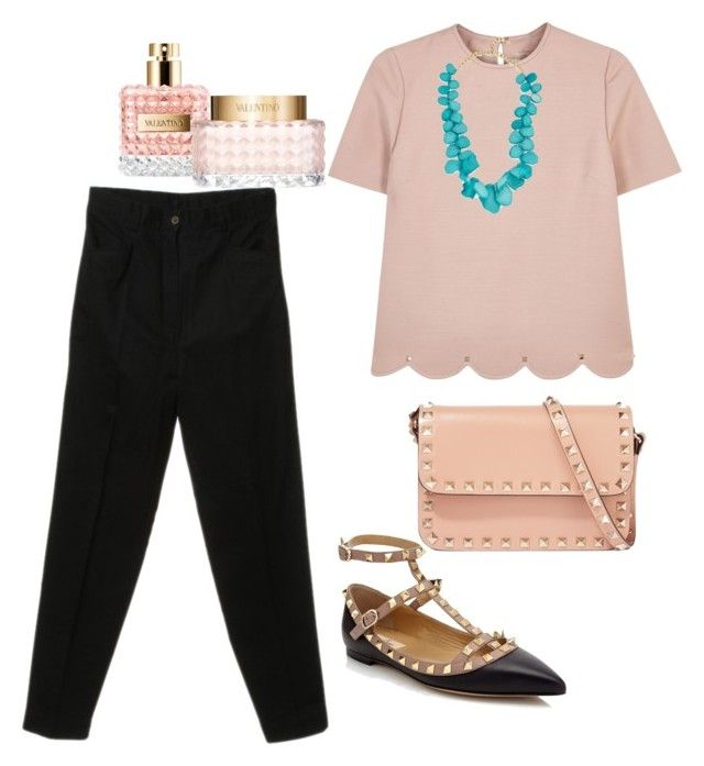 """""""Simple with VALENTINO"""" by pitaa29 on Polyvore featuring Valentino and BaubleBar"""