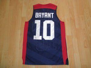 pretty nice 521f0 733aa kobe bryant olympic jersey for sale
