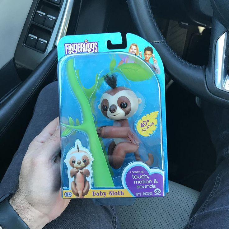Hit me up... for sale #Fingerlings Hardest one to find. #ChristmasGift #BabySloth #Sloth #SoldOut