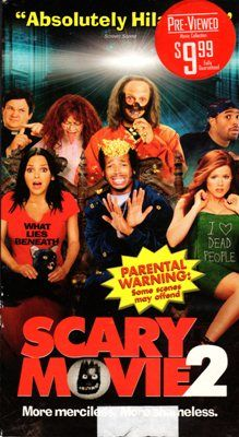 Scary Movie 2 VHS Tape Movie Marlon Wayans Shawn Video 14A