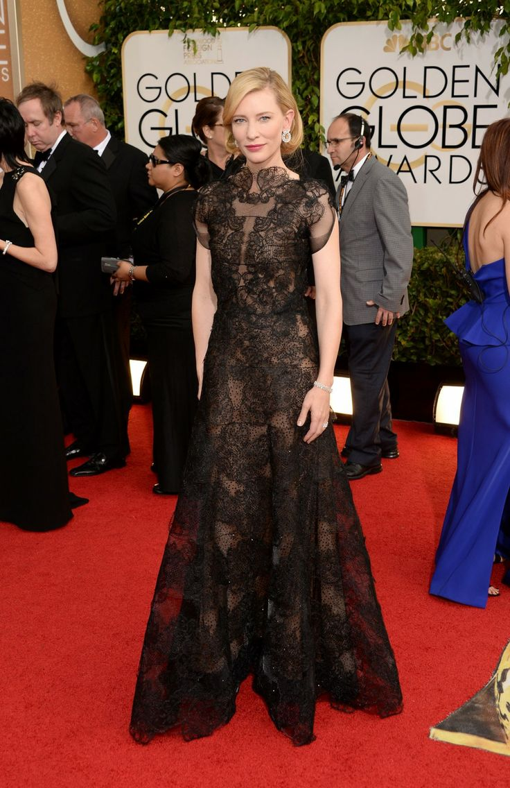 The Golden Globes Best Dressed Celebrities: Cate Blanchett