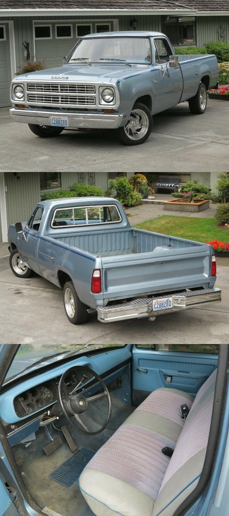 Dodge D150 For Sale Craigslist : dodge, craigslist, Daily, Driver, Dodge, Custom, Pickup, Trucks, Sale,, Dodge,, Vintage