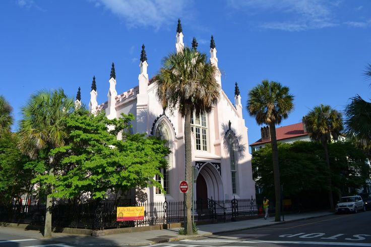 French Huguenot Church. Charleston, SC (Французская Гугенотская церковь. Чарльстон, Южная Каролина)