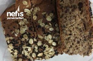 Tambuğdaylı Mayasız Cevizli Ekmek Tarifi