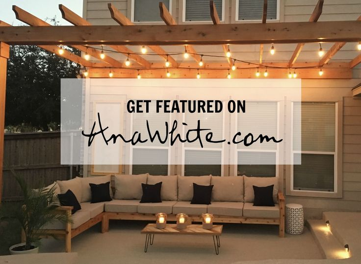 How to Get Featured on Ana White