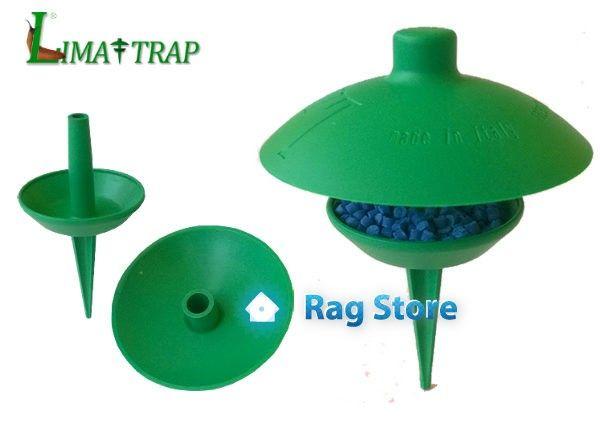Porta esca per lumache, Lima-Trap #limatrap #lima-trap #trappolalumache